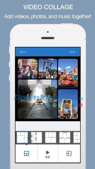 Fotoable InstaVideo für iOS 2.2 - Entwerfen von Instagram-Videos auf iPhone / iPad