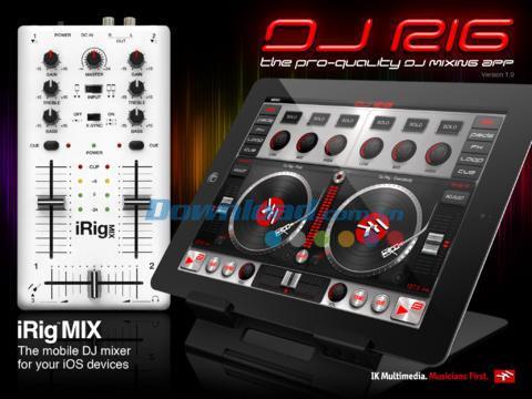 DJ Rig Free for iPad 1.1 - Programme de support DJ sur iPad