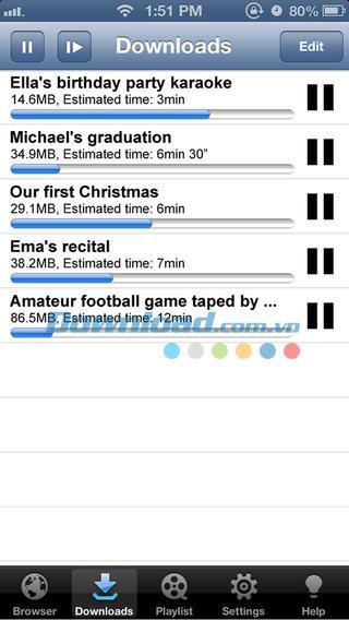 YTD Video Player für iOS 2.0 - Laden Sie kostenlose Videos auf iPhone / iPad herunter