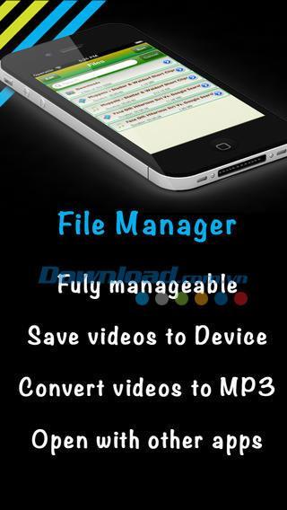 Video Music Downloader Free pour iOS 3.0 - Téléchargez des clips musicaux gratuits pour iPhone / iPad