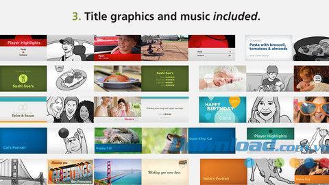 Videokits für iOS 1.17 - Professionelles Videodesign für iPhone / iPad