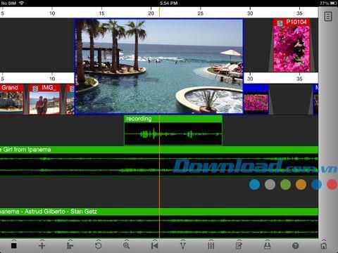 Voddio pour iOS 2.1.3868 - Éditeur audio et vidéo gratuit pour iPhone / iPad