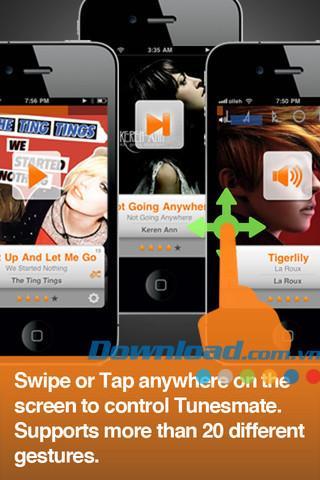 TunesMate für iOS 3.2.0 - Smart Music Player für iPhone / iPad