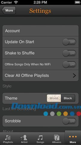 Melodien für iOS 2.2 - Verwalten Sie Google Music für iPhone / iPad