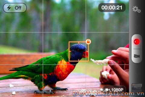 Videokamera + für iOS - Videoaufzeichnungssoftware für iPhone