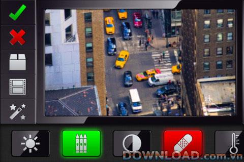 VideoGrade für iOS - Videofarbbearbeitungssoftware für das iPhone
