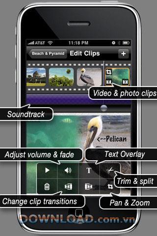 ReelDirector für iOS - Multifunktionales Videobearbeitungswerkzeug für iOS