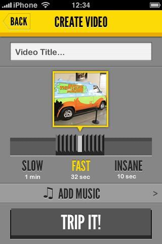 PicTrip für iOS - Erstellen Sie Videos aus Fotos unter iOS