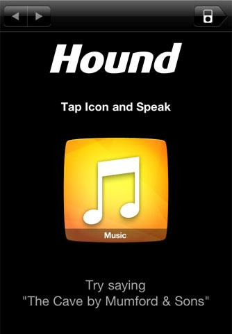 Hound pour iPhone