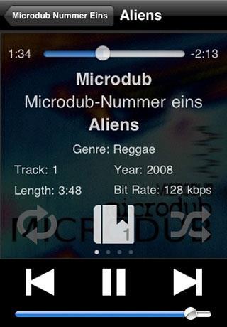 iSub Music Streamer für iPhone