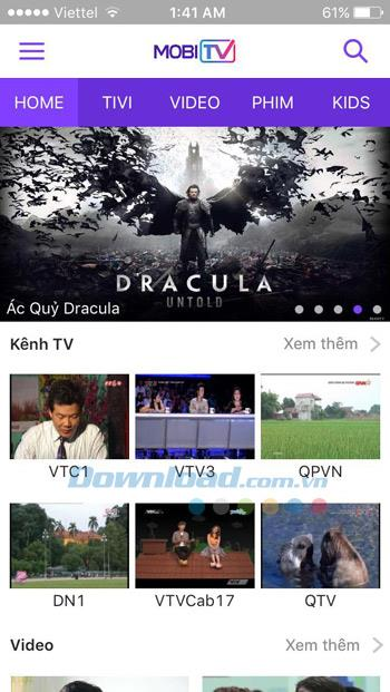 MobiTV für iOS 4.3 - Anwendung zum Fernsehen auf iPhone / iPad