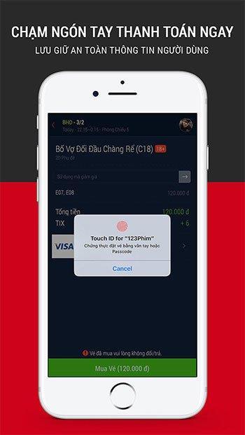 123Movies für iOS 5.16 - Filmvorführungen ansehen, Kinokarten online buchen