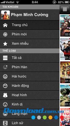 Movie World pour iOS 1.0 - Synthèse des informations sur les films