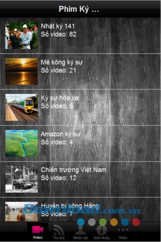 Dokumentarfilm für iOS 6 - Synthese von Filmzeichen