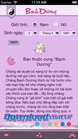 Lustiges Horoskop für iOS 1.0 - Siehe das synthetische Horoskop