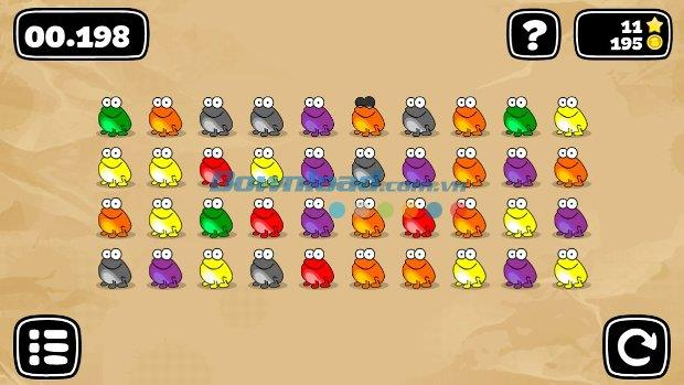 Tap the Frog: Doodle for iOS 1.10.2 - Le mini-jeu Frog Prince sur votre iPhone / iPad