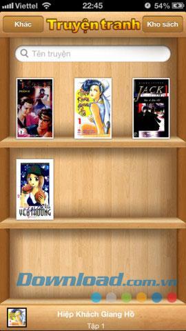 Bandes dessinées vietnamiennes gratuites pour iOS 1.1 - Application pour lire des mangas gratuitement
