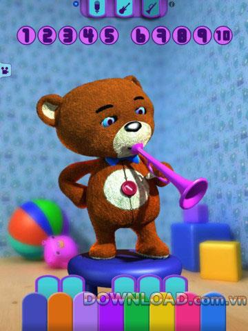 Talking Ted Bear HD pour iPad - Application de la fausse voix humaine d'ours pour iPad