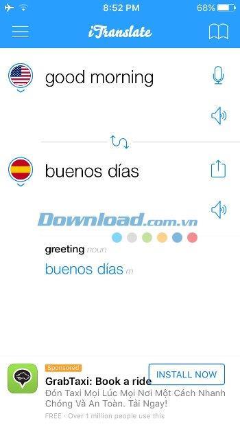 iTranslate for iOS 13.0.0-iPhone / iPadの多言語翻訳ソフトウェア