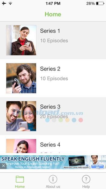 LearnEnglish Podcasts pour iOS 3.3.1 - Entraînez-vous à écouter l'anglais sur votre iPhone / iPad