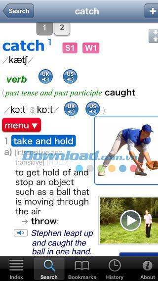 LDOCE (InApp) für iOS 9.0 - Erweitertes Englisch-Wörterbuch für iPhone / iPad