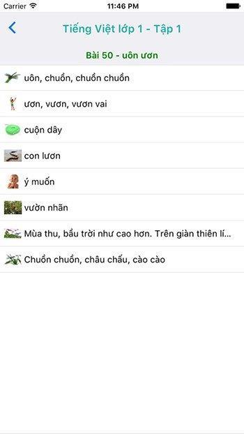 Vietnamien Grade 1 pour iOS - Manuels de niveau 1