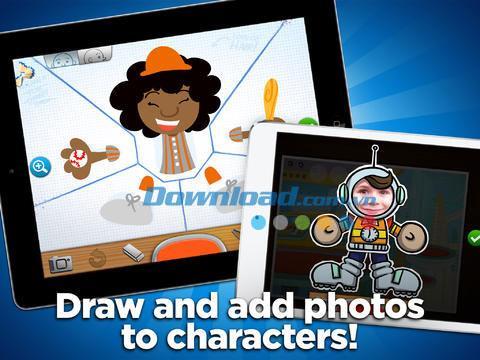 Toontastic pour iPad 2.9.0 - Simplifiez les animations sur iPad