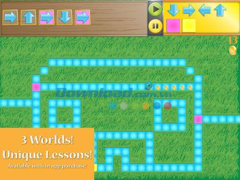 Kodable für iOS 4.0.2 - Unterrichtet Kinder beim Programmieren auf iPhone / iPad