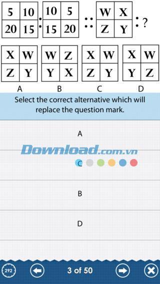 The IQ Test: Free Edition pour iOS 4.3 - Mesurer le QI sur iPhone / iPad
