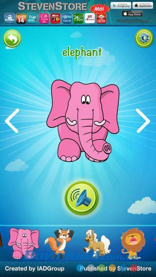 Dictionnaire pour iOS 1.1 - Application pour rechercher un dictionnaire à travers des images pour les enfants