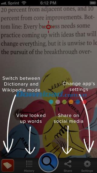 SnapNSee for iOS 1.2-iPhone / iPadのカメラで単語を翻訳する