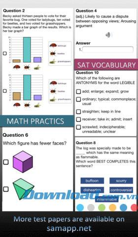 xQuestions Free for iOS 1.2.5-Excel for iPhone / iPadでのデザイン試験の質問