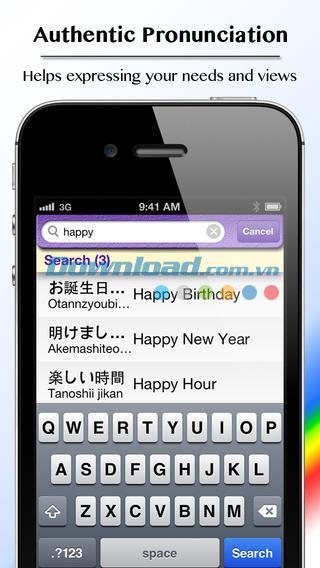 Flashcards japonais - BravoLang pour iOS 2.0 - Apprenez le japonais grâce aux cartes flash
