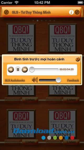 Smart Thinking Audio für iOS 1.0 - Kostenloses synthetisches Hörbuch