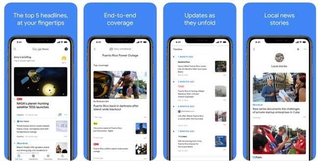 Google News pour iOS 5.9 - Lire les actualités sur iPhone / iPad