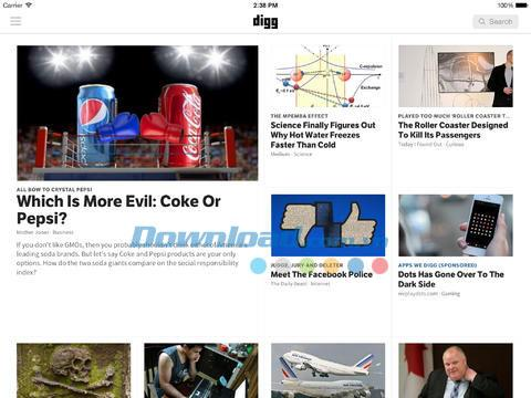 Digg for iOS 6.3.0-iPhone / iPadのニュースアグリゲーター
