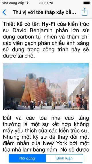 Khoahoc.com.vn pour iOS 1.0 - Lisez les actualités scientifiques sur iPhone / iPad