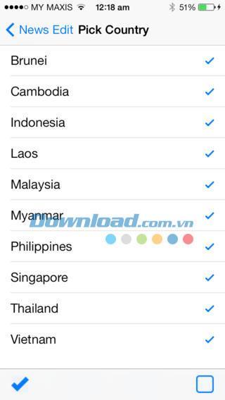 Asean News für iOS 1.0 - Aktualisierte Nachrichten zu Südostasien auf iPhone / iPad
