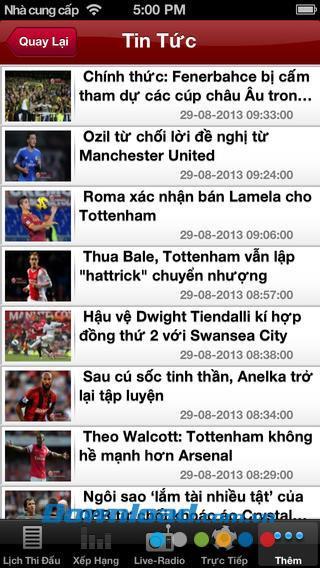 Fußballradio für iOS 1.0 - Sehen Sie Live-Fußballradiosender