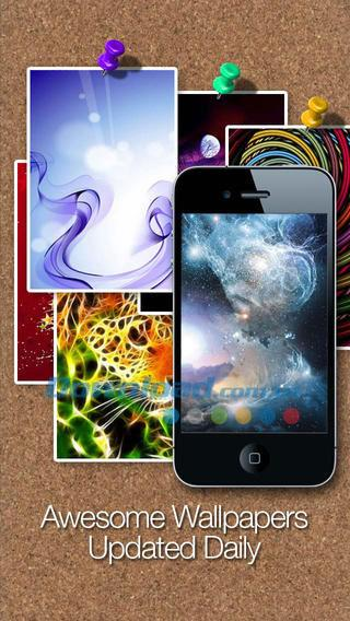 iOS 3.1.2用のクールな壁紙HD&Retina無料-iPhone / iPad用の壁紙の膨大なセット