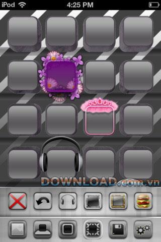 iThemes HD pour iOS 1.6 - Personnaliser l'écran de l'iPhone