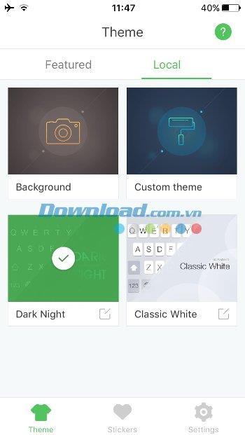 GO Keyboard für iOS 2.21 - Wunderschöne vietnamesische Tastatur für iPhone / iPad