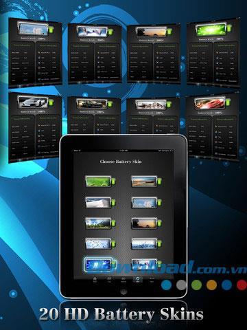 Battery Plus for iPad 1.2 - Application de gestion de batterie pour iPad