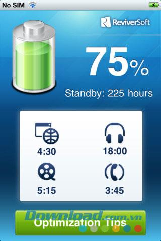 iPhone Battery Optimizer für iOS 3.0 - Optimierter Akku für iPhone