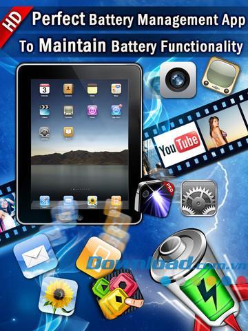 Meilleur gestionnaire de batterie HD pour iPad 1.0 - Gestionnaire de batterie multifonctionnel pour iPad