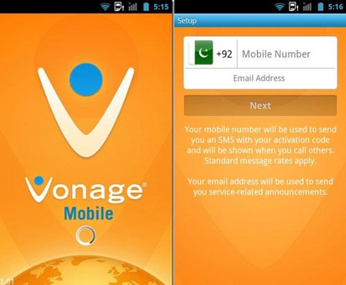 Vonage Mobile foriPhone-iPhoneでの無料のVoIP通話とテキストメッセージ