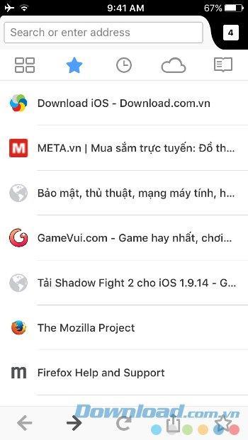iOS29.2用Firefox-iPhone / iPad上の超高速Webブラウザ