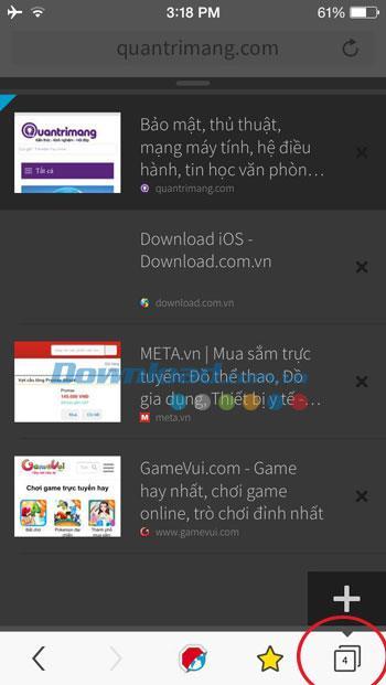 Eyeo Adblock Browser pour iOS 1.2.0 - Navigateur Web bloquant les publicités sur iPhone / iPad