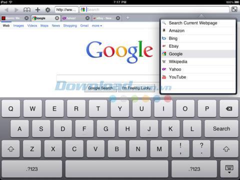 Atomic Web Browser Lite für iOS 7.0.1 - Ein verbesserter Webbrowser für iPhone / iPad