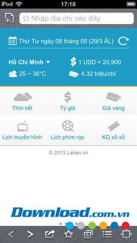Navigateur Laban pour iOS 1.1 - Navigateur Web pour téléphones mobiles